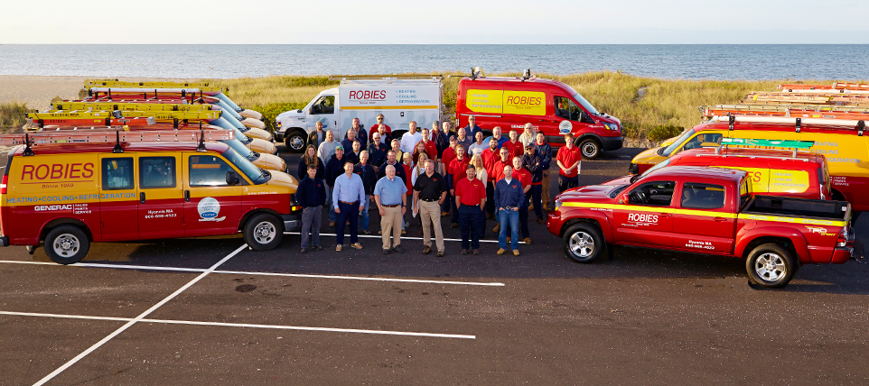 Robies of Cape Cod employs expert HVAC technicians and staff.