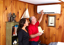 Ductless heating and cooling is an alternative to conventional whole-house heating and air conditioning systems.