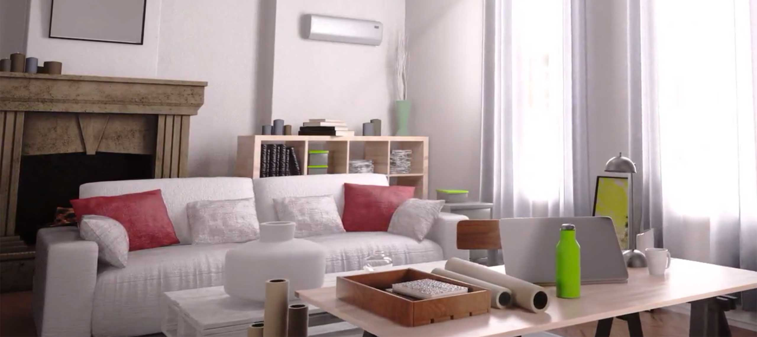 A ductless mini split AC can be added to any home without expensive ductwork!