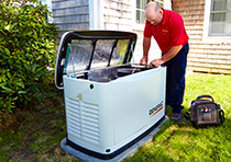 Call Robies for expert installation of standby generators on Cape Cod